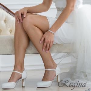 Zapato Novia tacón ancho