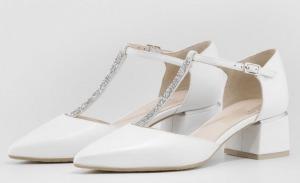 zapatos novia tacón bajo ancho